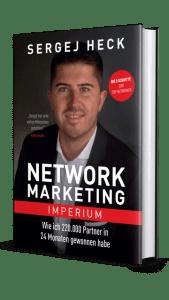 """""""Network Marketing Imperium"""" Gratis Buch von Sergej Heck"""