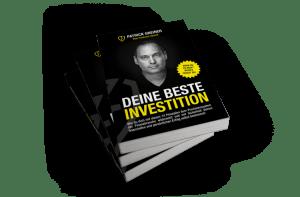"""Gratis Buch """"Deine beste Investition"""" - Patrick Greiner"""
