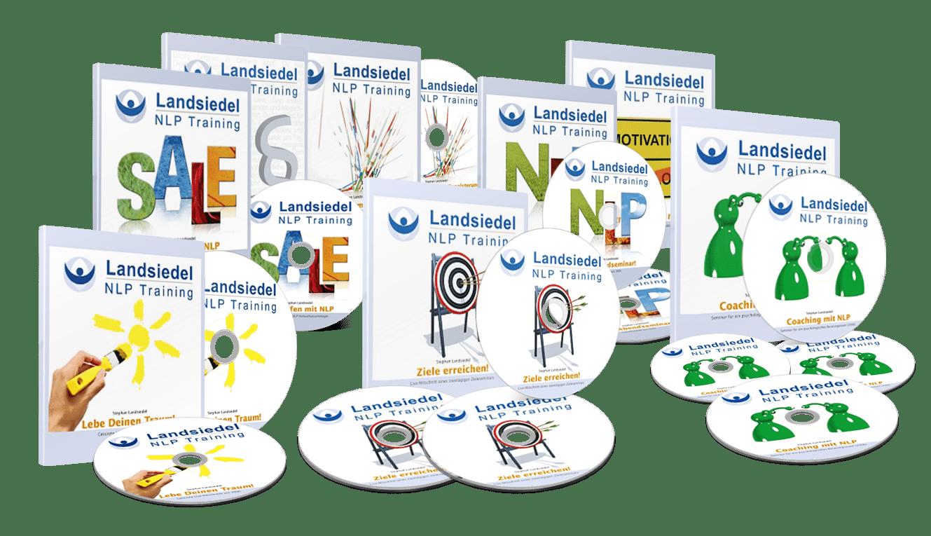 Die Große NLP Hörbuch Kollektion von Stephan Landsiedel