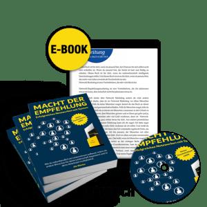 Gratis Buch - Macht der Empfehlung von Jim Menter