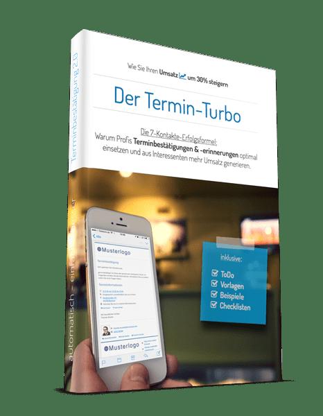 Gratis eBook - Der Termin-Turbo von Terminpilot