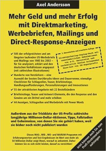 Mehr Geld und mehr Erfolg mit Direktmarketing Werbebriefen Mailings