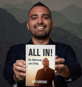 Gratis Buch Said Shiripour All In! Die Abkürzung zum Erfolg