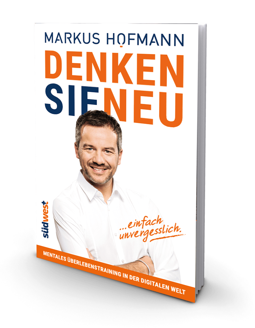 Buch Geschenk 22Denken Sie neu22 von Markus Hofmann