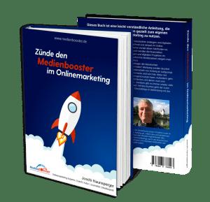 Gratis Buch Zünde den Medienbooster im Onlinemarketing