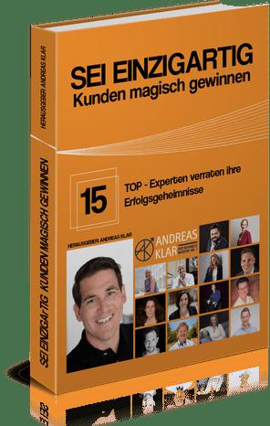 Buch SEI EINZIGARTIG – Kunden magisch gewinnen