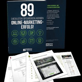 89 Checklisten für durchschlagenden Online Marketing Erfolg klein
