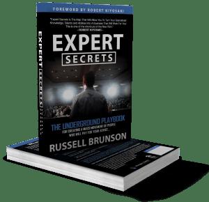 Gratis Buch Expert Secrets by Russell Brunson